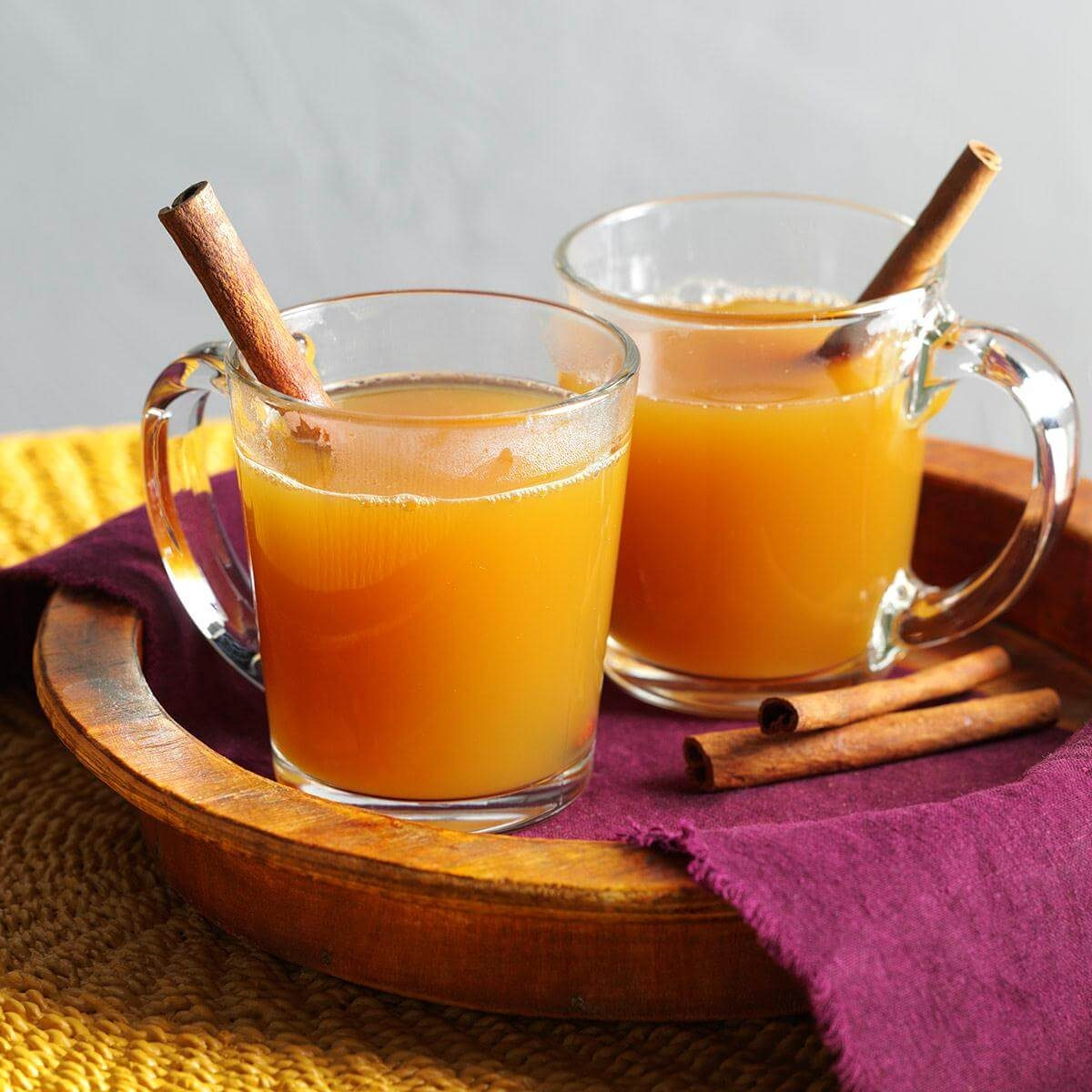 Spiced Hot Apple Cider Recipe