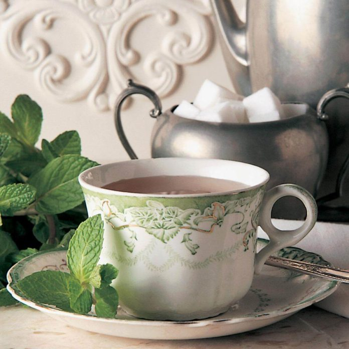 Spiced Mint Tea