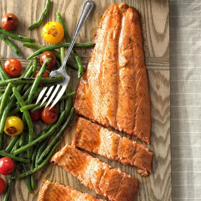 Summer: Spiced Salmon