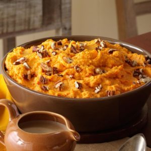 Spiced Sweet Potato Mash