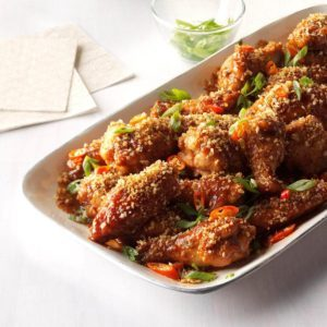 Spicy Butterscotch Wings