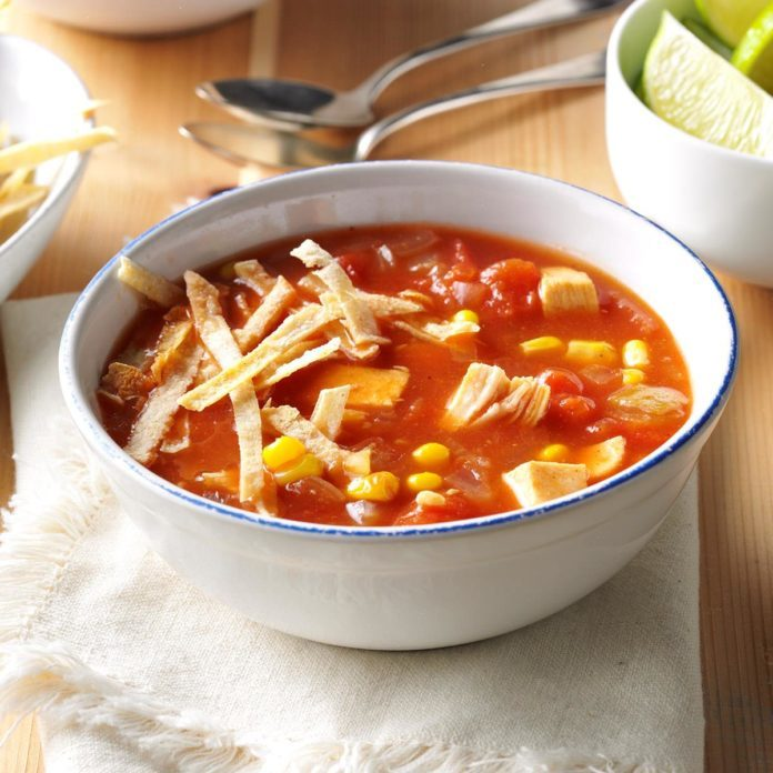 Mississippi: Spicy Chicken Tomato Soup