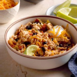 Spicy Chicken and Rice