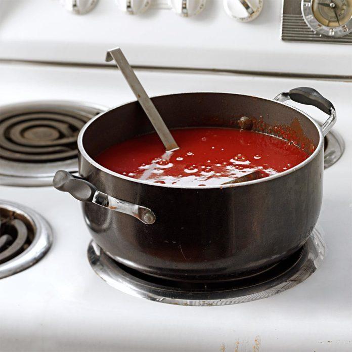 Spicy Homemade Tomato Juice