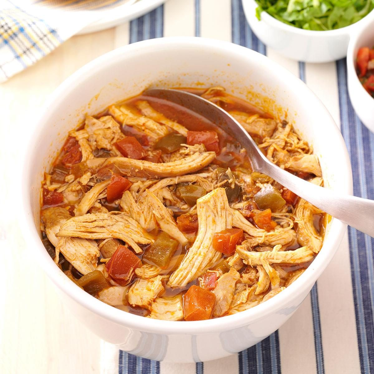 Spicy Shredded Chicken Recipe