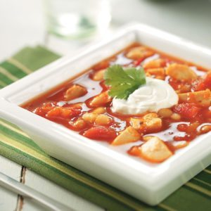Spicy Turkey Bean Soup