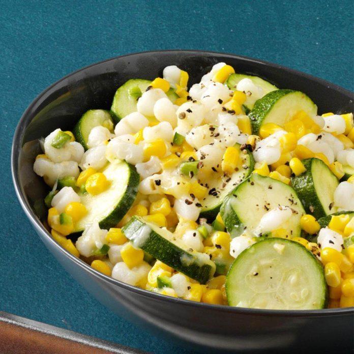Spicy Zucchini Corn Medley