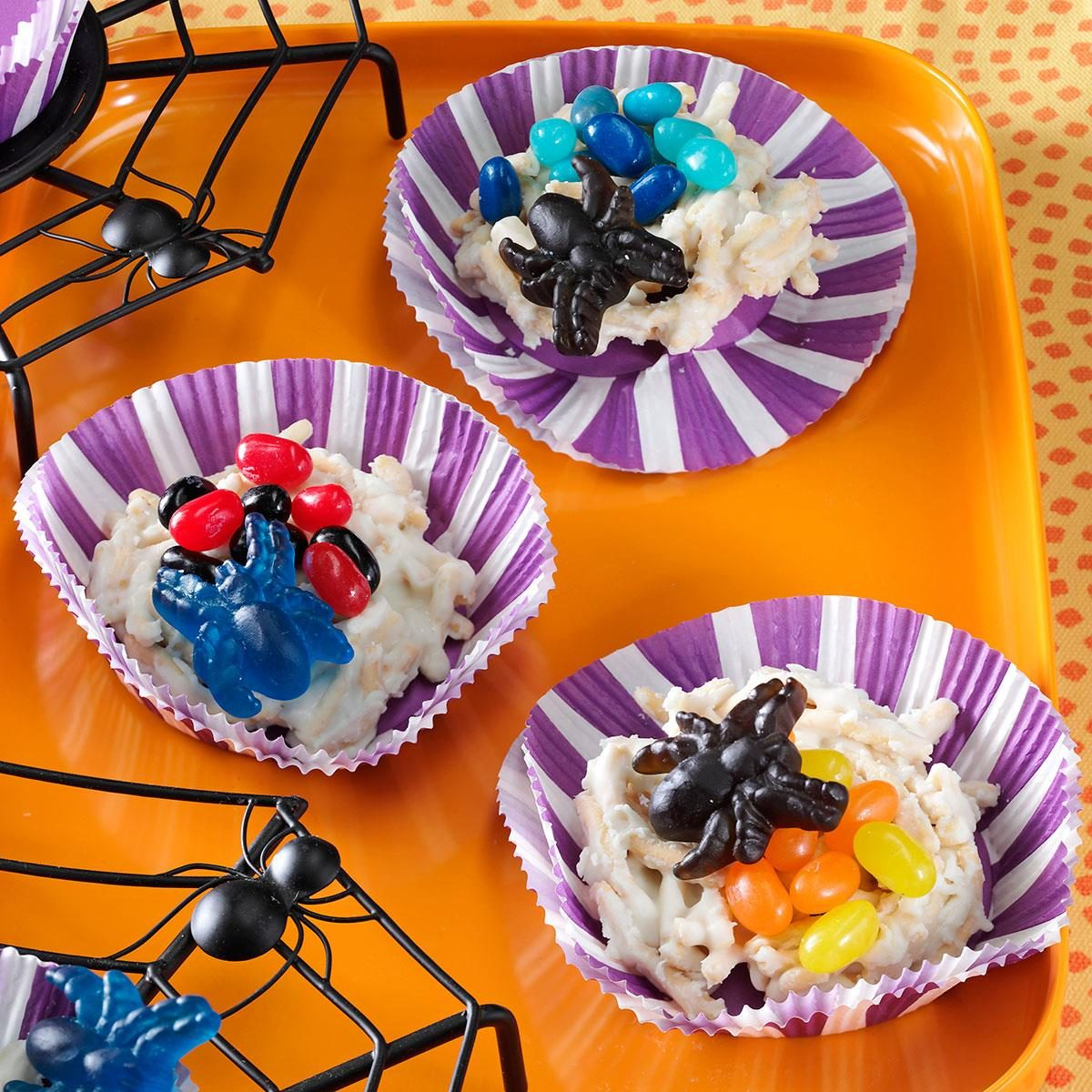 spider nest candies recipe | taste of home