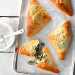 Spinach Feta Turnovers