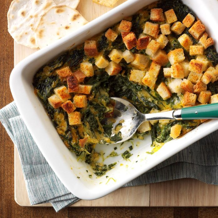 Spinach Souffle Dip