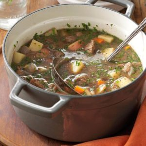 Hearty Steak and Vegetable Soup