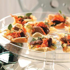 Steak Salad Baskets