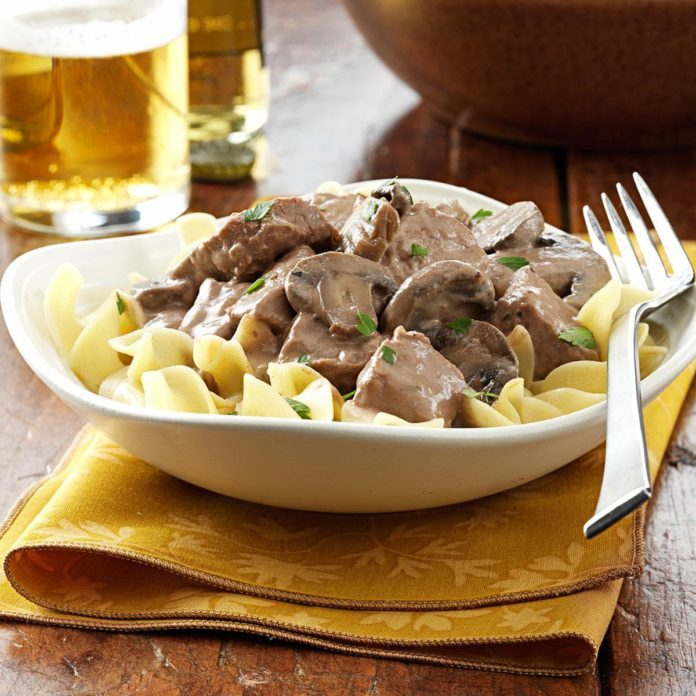 Russia: Steak Stroganoff