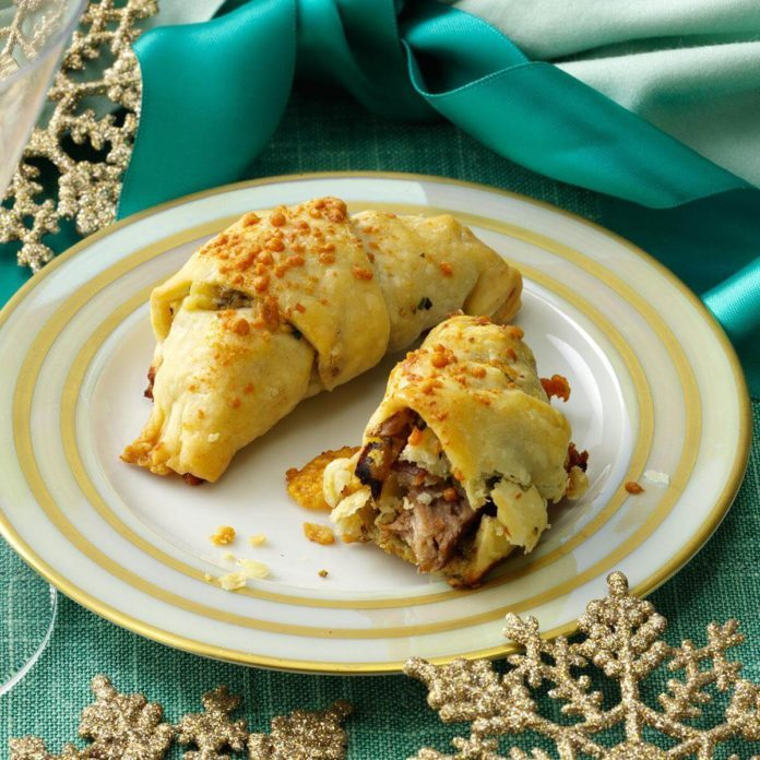 Steak and Blue Cheese Crescents