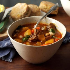 Steak-n-Vegetable Soup