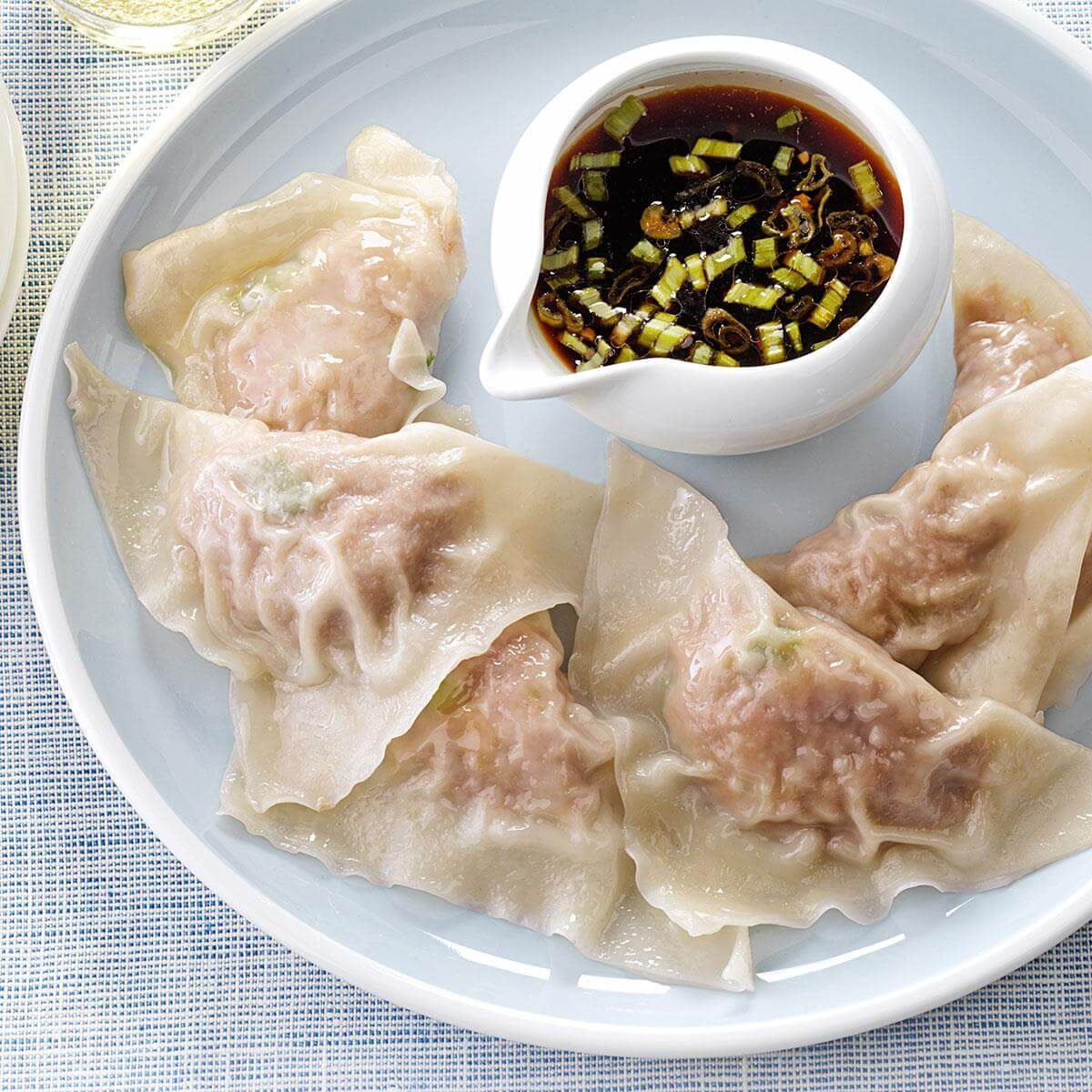 Steamed Turkey Dumplings Recipe