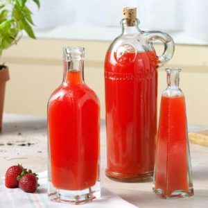 Strawberry-Basil Vinegar