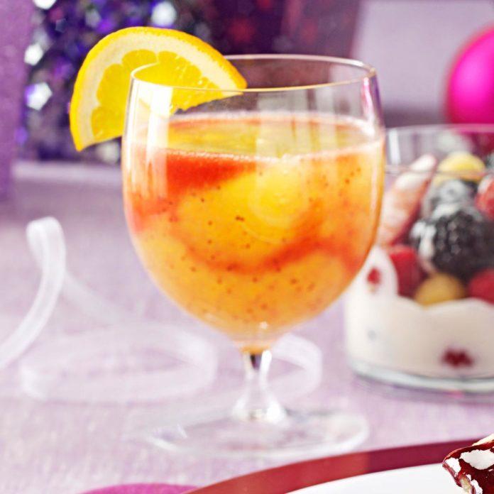 Strawberry Citrus Slushies