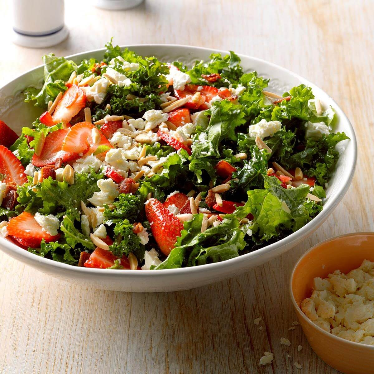 Strawberry Kale Salad Recipe | Taste of Home