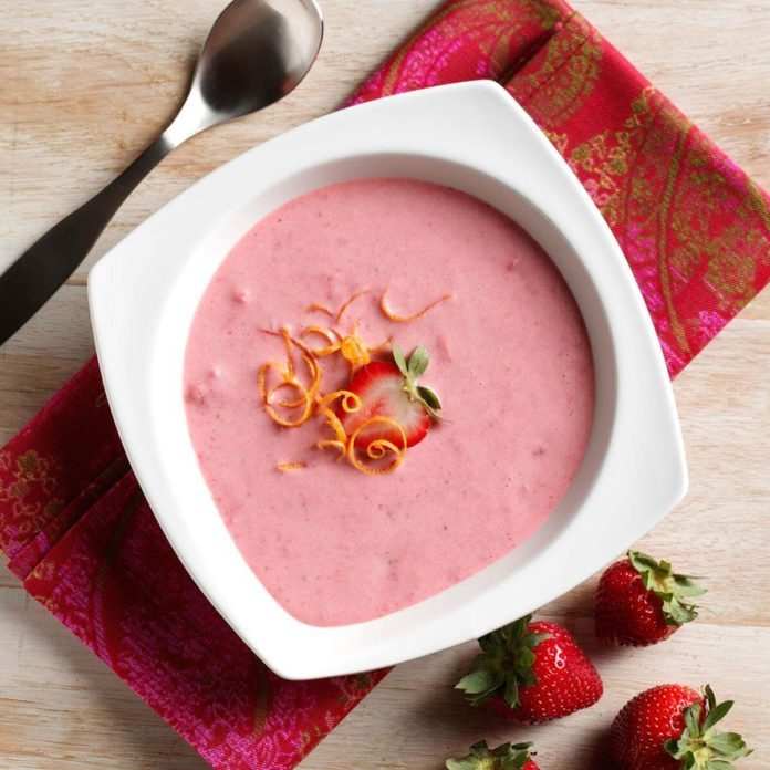 Succulent Strawberry Soup
