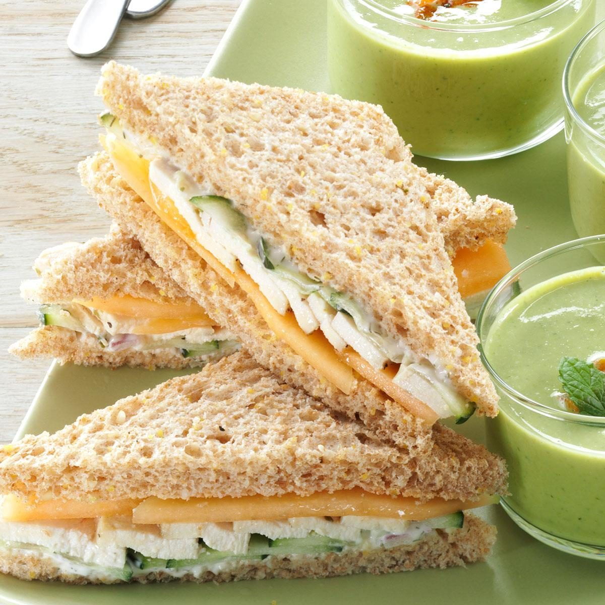 Easy Finger Sandwich Recipes: Summer Tea Sandwiches Recipe