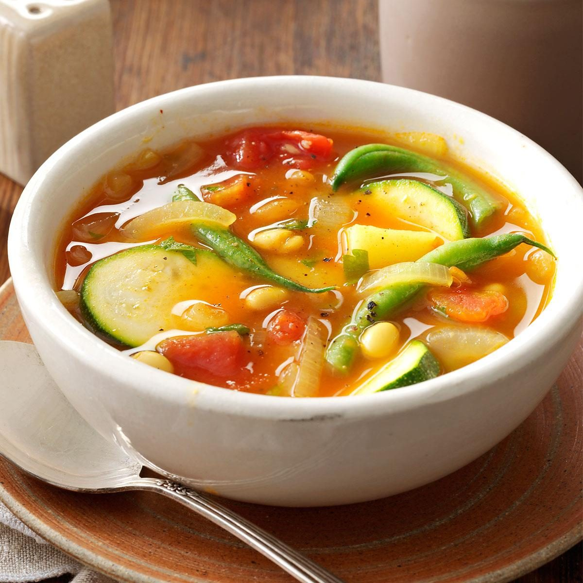 Summer Vegetable Soup Recipe
