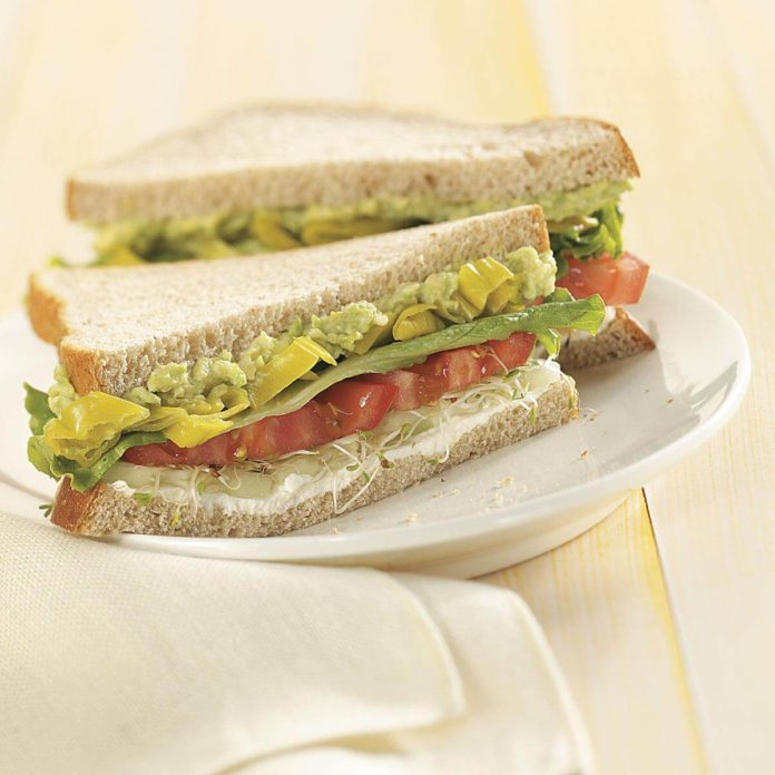 Summer Veggie Sandwiches