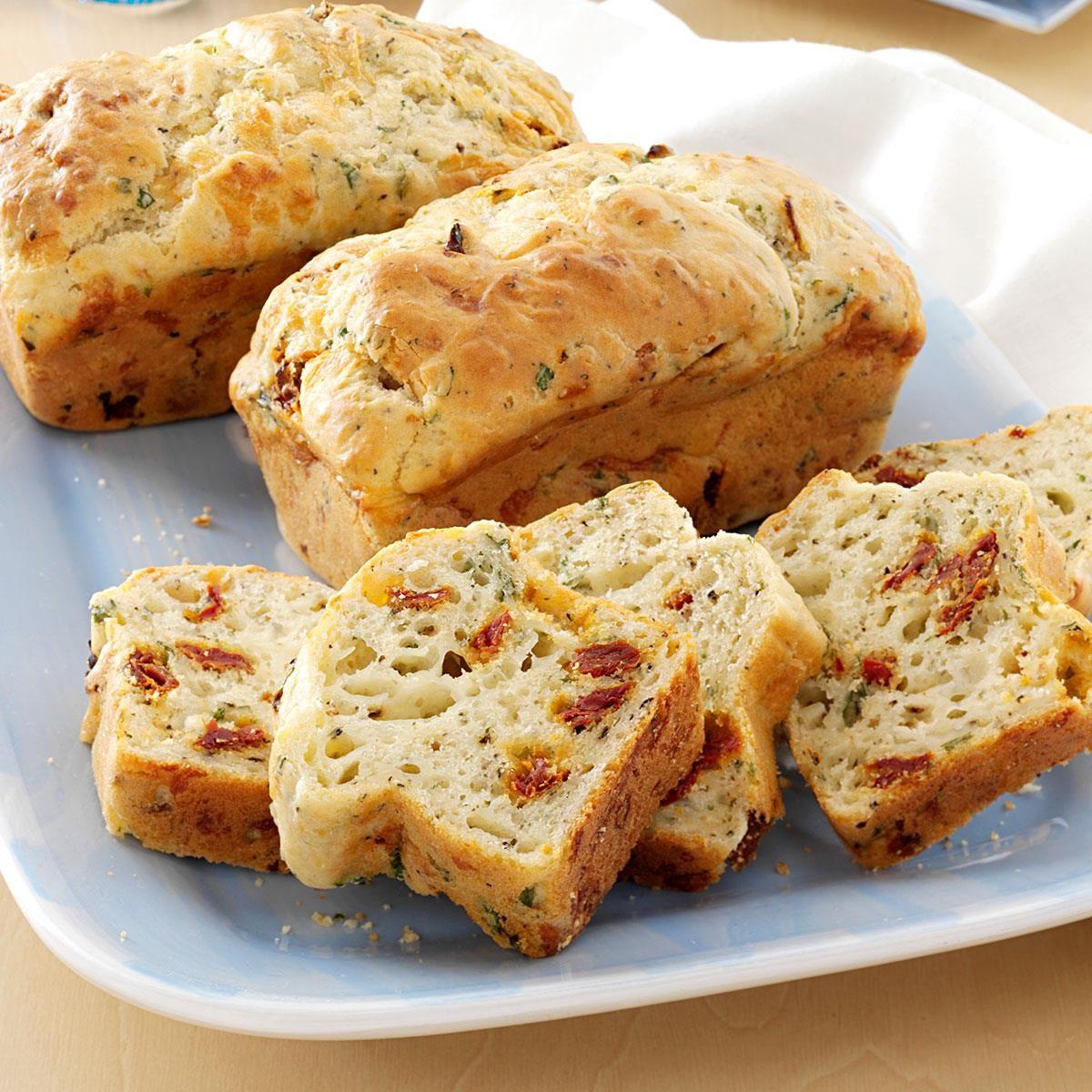 Sun Dried Tomato Provolone Bread Recipe Taste Of Home