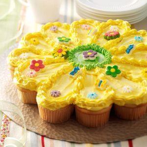 Sunny Flower Cake
