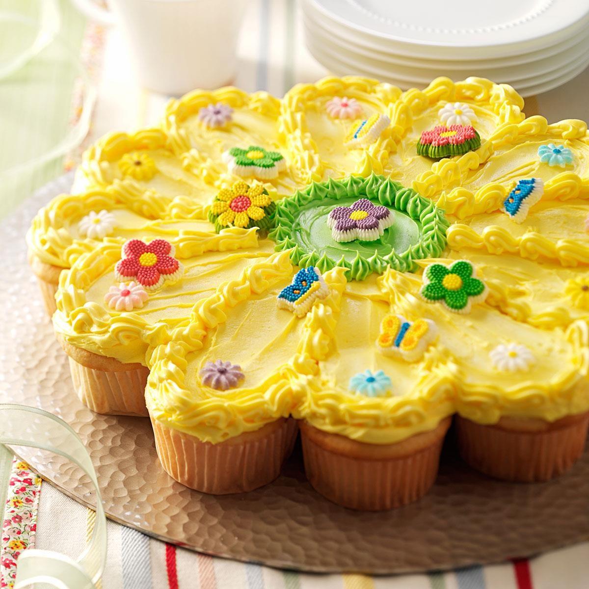 Sunny flower cake taste of home izmirmasajfo