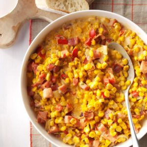 Sweet Onion Creamed Corn