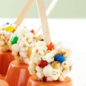 Sweet & Salty Marshmallow  Popcorn Treats