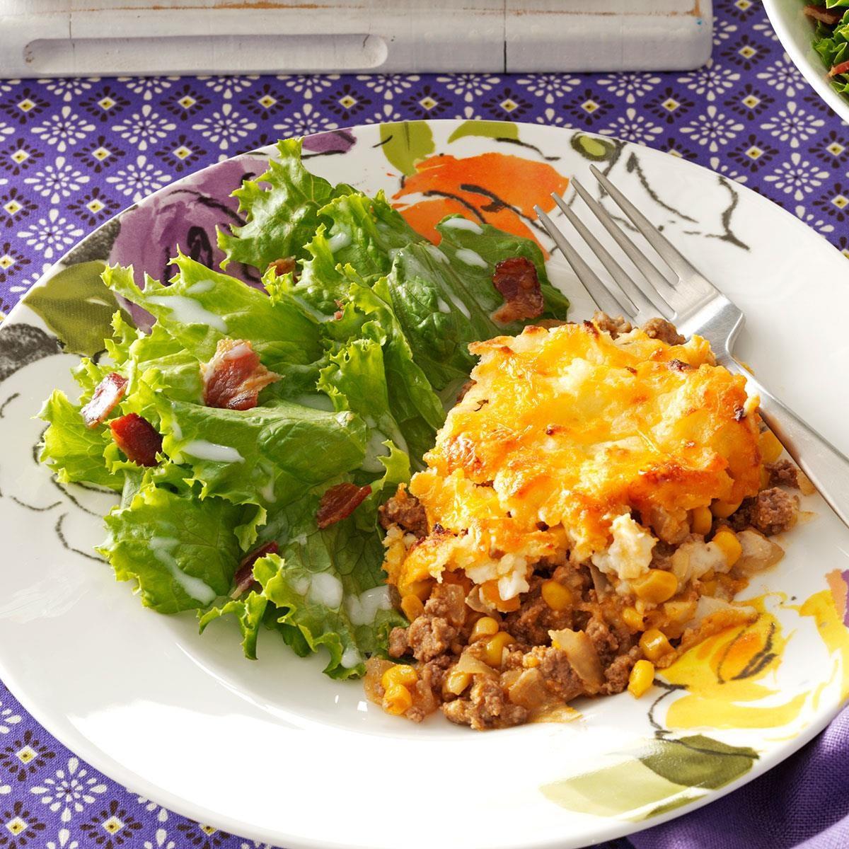 Sweet-Sour Lettuce Salad Recipe | Taste of Home