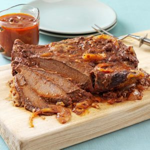 Sweet and Sour Brisket