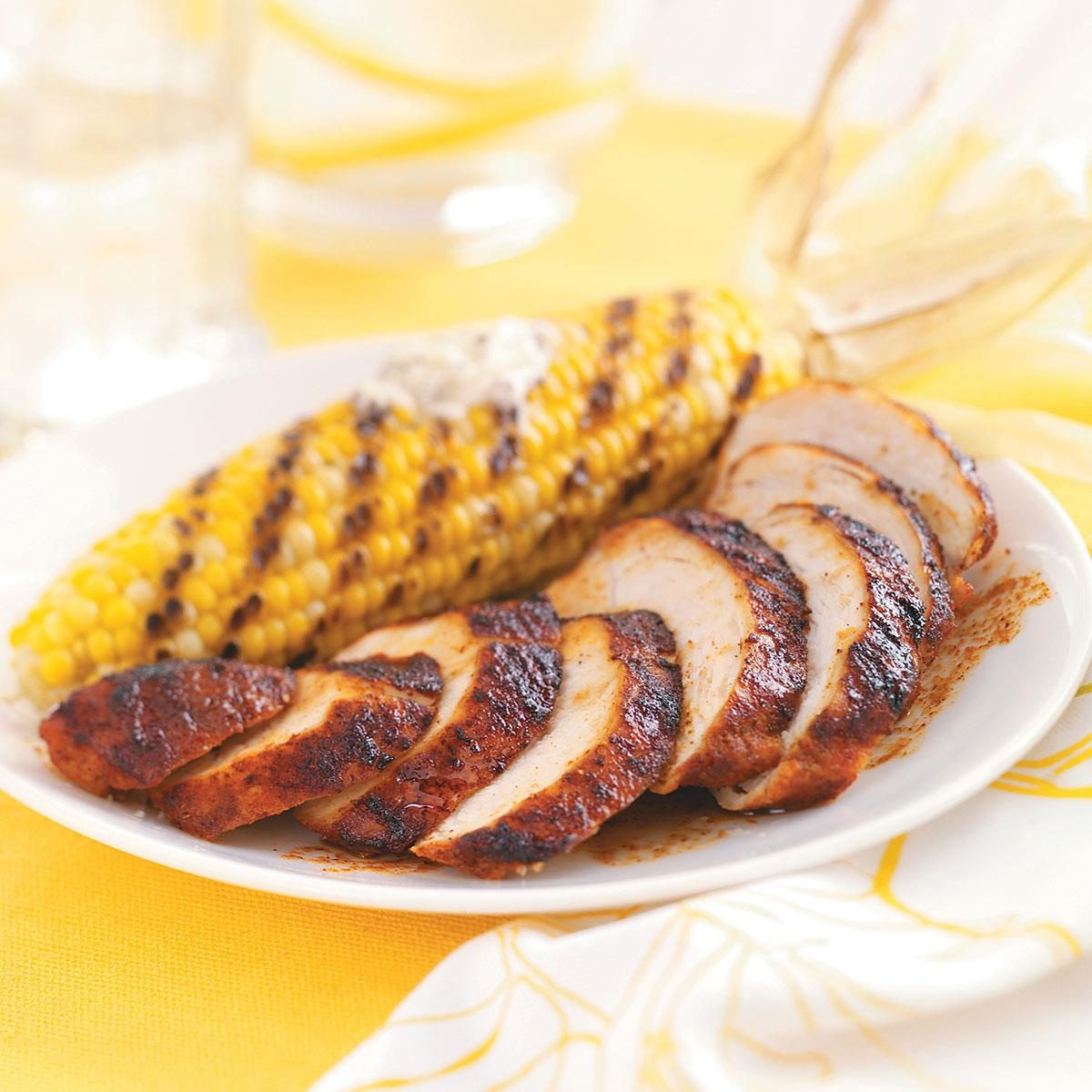 Sweet and spicy grilled chicken taste of home forumfinder Image collections