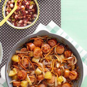 Sweet 'n' Sour Sausage Stir-Fry