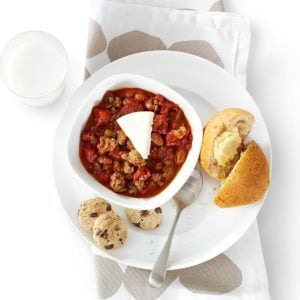 Tangy Beef Chili
