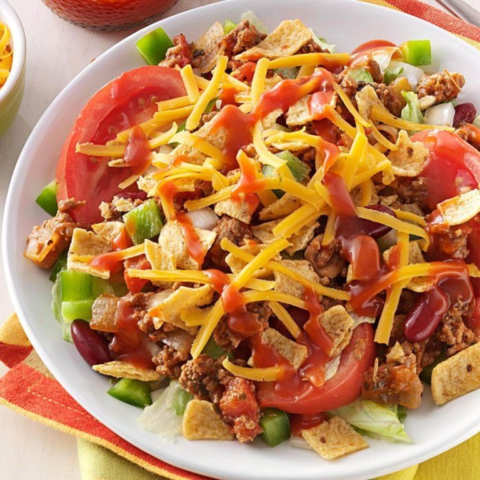 Tangy Beef Salad