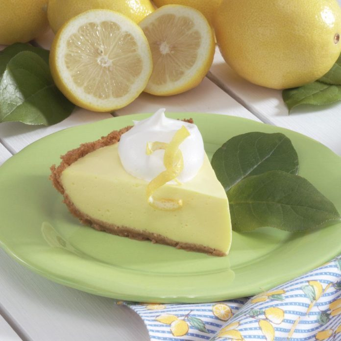 Tangy Lemonade Pie