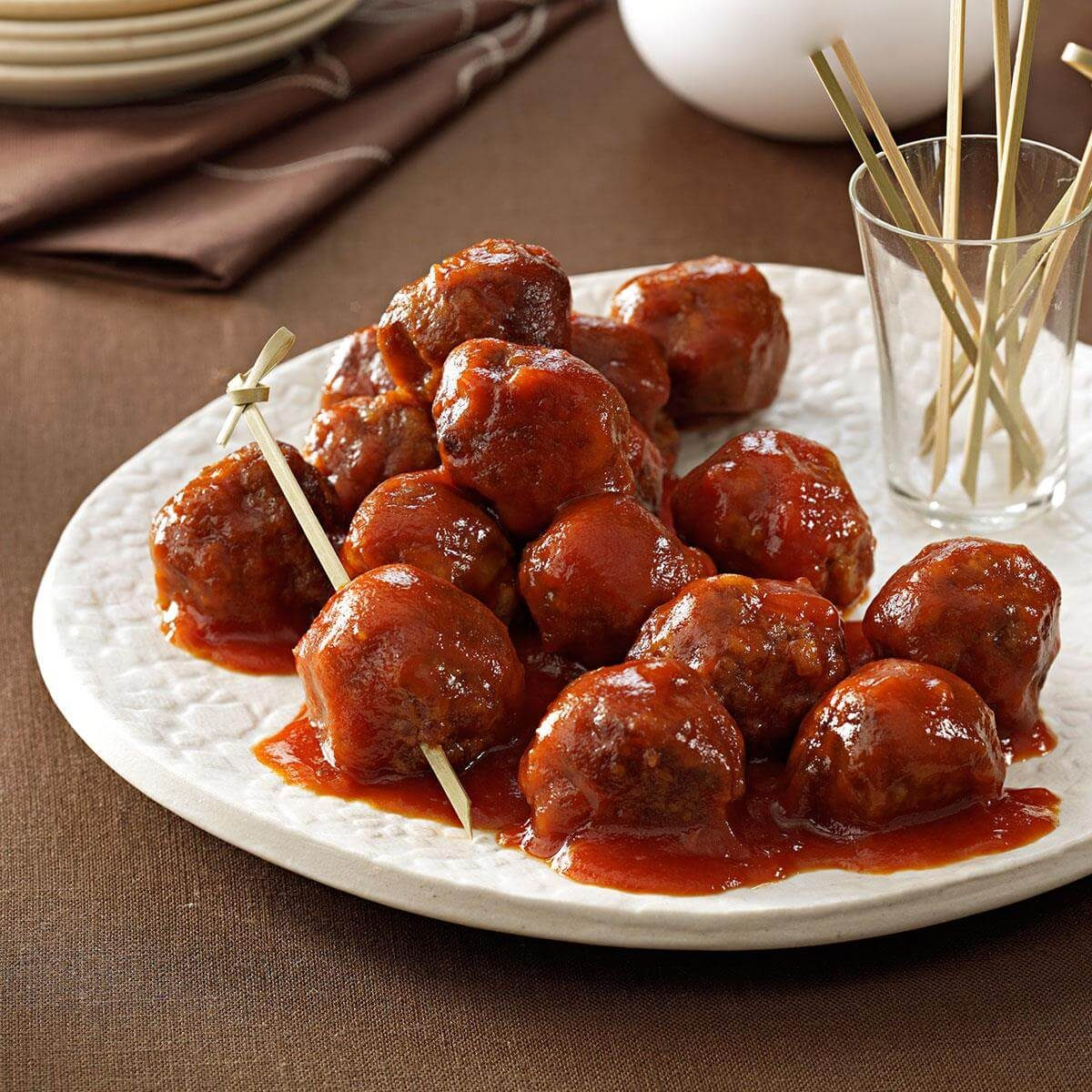 32 Fuss Free Christmas Finger Foods: Tangy And Sweet Meatballs Recipe