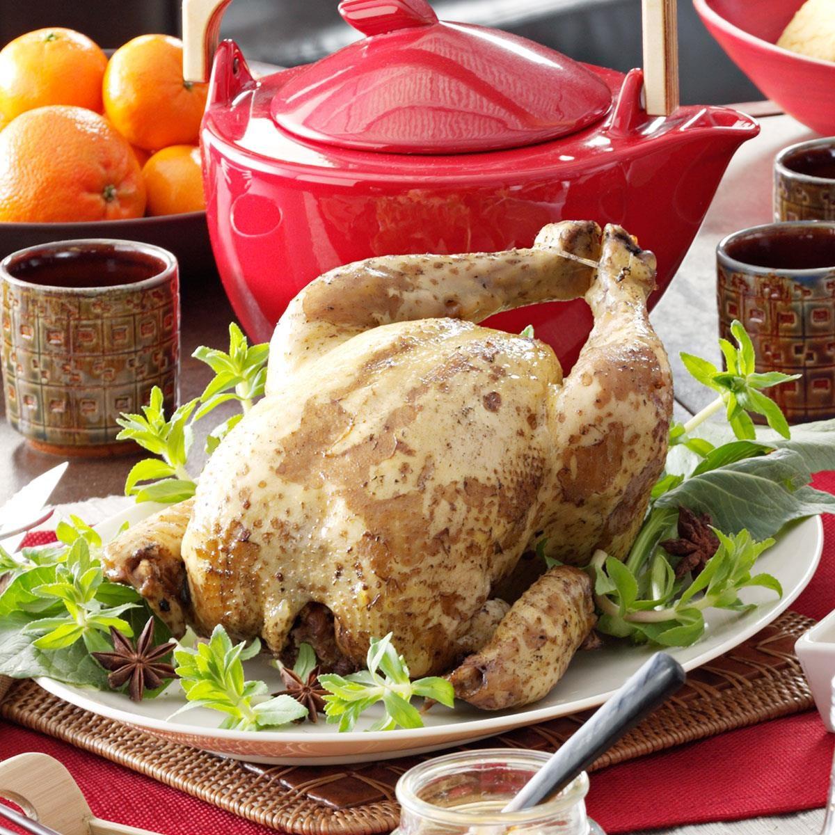 Tea-Smoked Peking Chicken
