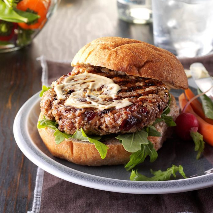 Tempting Pork Tenderloin Burgers