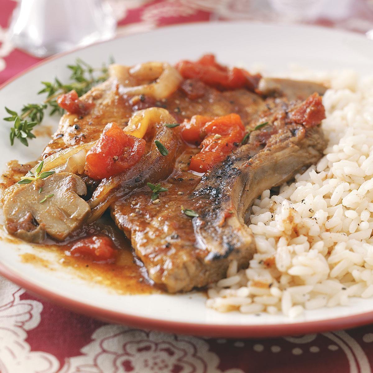 Tender Slow Cooker Pork Chops Recipe