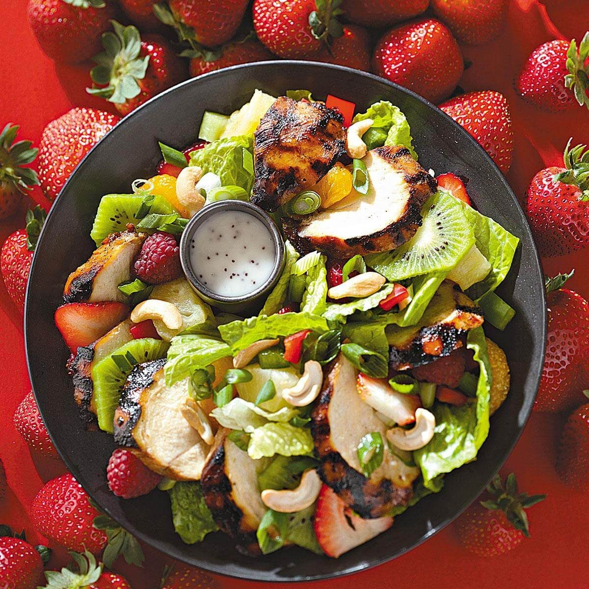 Teriyaki Chicken Salad With Poppy Seed Dressing Recipe