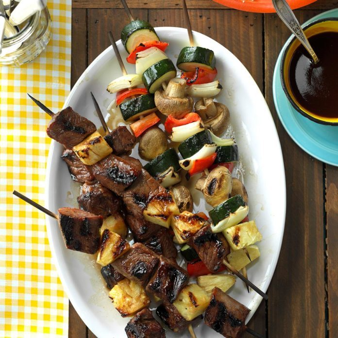 Teriyaki Shish Kabobs