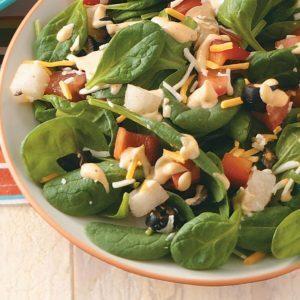 Tex-Mex Spinach Salad