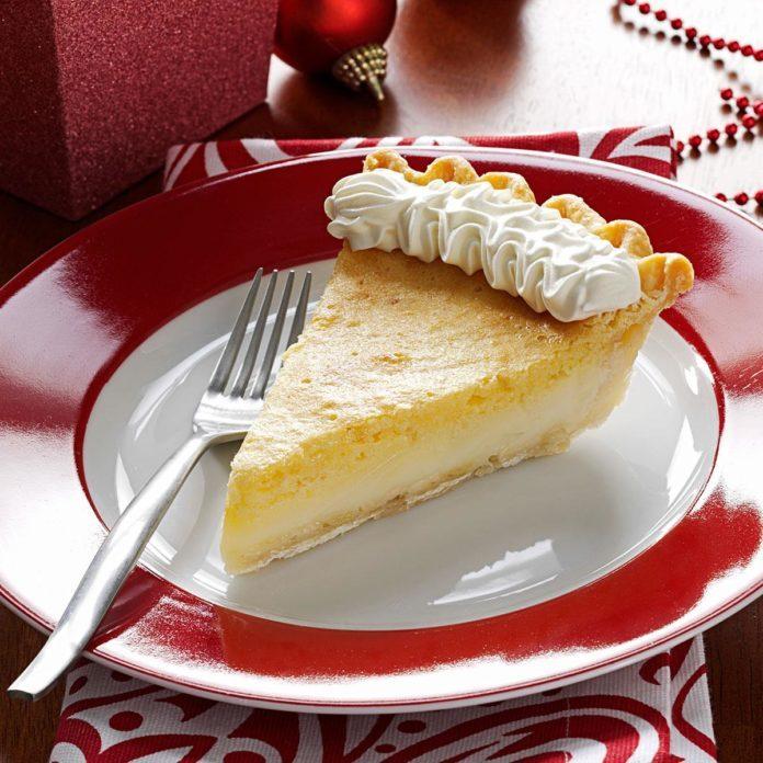 Texas Lemon Chess Pie