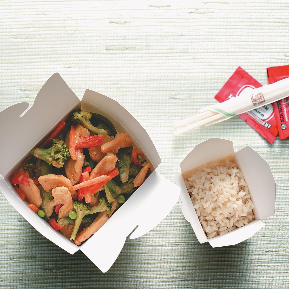 Thai Chicken Stir-Fry Recipe | Taste of Home