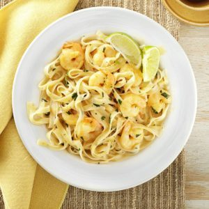 Thai Shrimp Pasta