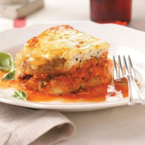 The Best Eggplant Parmesan